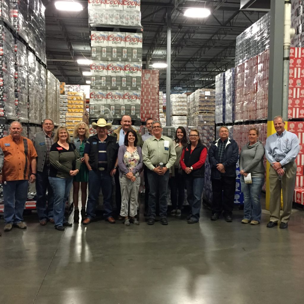 Briggs GOP Warehouse Tour