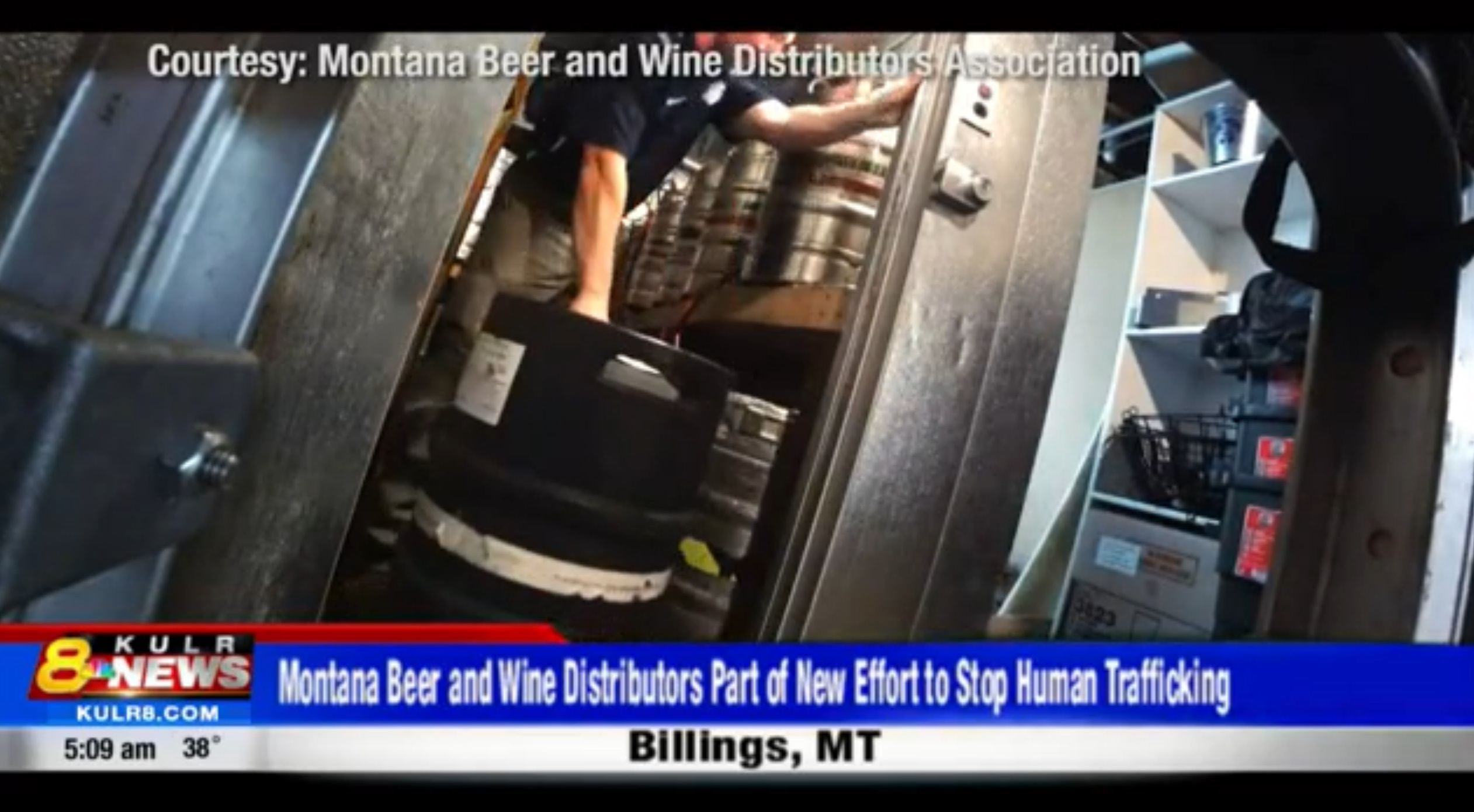 'Right Before Your Eyes:' Montana Beer And Wine Distributors Working To Stop Human Trafficking In Montana